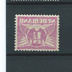 Netherlands 1928 - Flying pigeon, misprint - NVPH 171 with offset