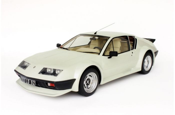 Otto Models - Scale 1/12 - Renault Alpine A310 Pack GT - White - Limited 999 pieces