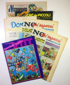 Jacovitti - lot of 6x magazines - 1960-1970