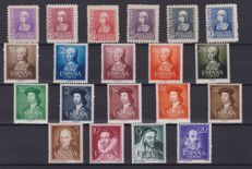 Spain, 1930/2000 - selection with sheets, luxury proofs, in series and separate.