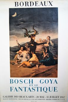 Anonymous - Bosch, Goya et le Fantastique, Bordeaux - 1957