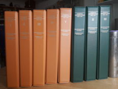 Swiss cancellation manual 1843-1907 in 8 volumes