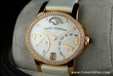 Girard-Perregaux - Cat's Eye Bi- Retro - Mother-of-Pearl - 72 diamonds 0,83ct - Gold 18k