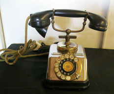 Antique telephone, 1950s