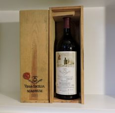 Vega-Sicilia Unico Magnum Gran Reserva 1973 - 1 magnum (150cl) Bottle with wooden case