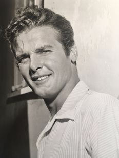 Mac Julian (1901-1970) /Hollywood ITC Incorporated - Roger Moore - 'The Miracle', 1958 and 'The Saint', 1962