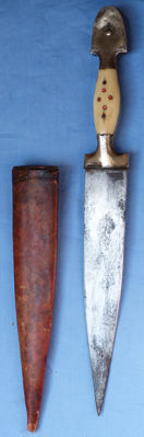 Dated 1913 Balkan Dagger and Scabbard