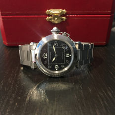 Cartier - Pasha GMT Automatic - Unisex