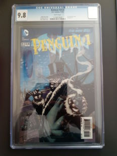 DC Comics - Batman The Dark Knight #23.3: Penguin - Lenticular 3D Cover Variant - CGC 9.8 - 1x SC - (2013)
