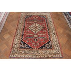 Beautiful handwoven Oriental Sultanabad carpet, made in Afghanistan in the late 20th century, 180 × 120 cm