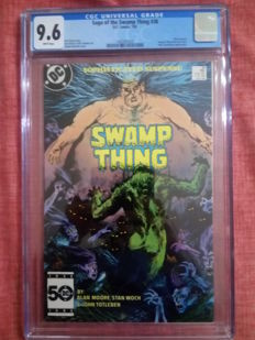 DC Comics - Swamp thing #38 - Alan Moore - CGC 9.6 - 1x SC - (1985)
