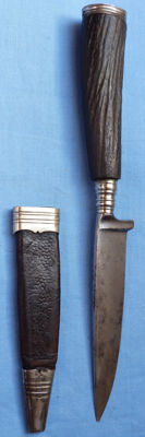 Original  Imperial German Hunting Dagger and Scabbard