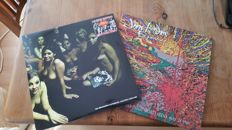The Jimi Hendix Experience; Electric Ladyland (nude picture disc's) and Live at San Diego Sports Arena, 2 Doubles = 4 Records