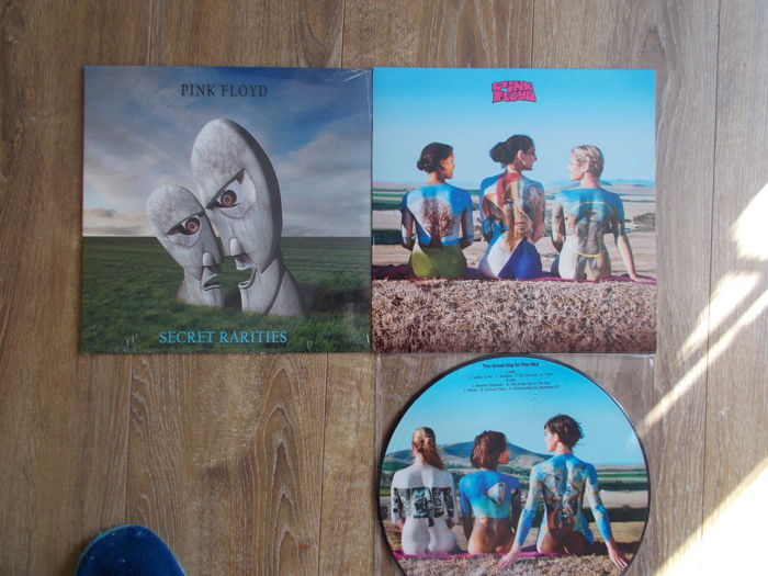 Pink Floyd Lot Of 2 Lp Live At Tokyo , Taiikukan , Tokyo ,Japan , March 6 1972 , Special Limited Edition , Picture And Lp Secret Rarities , Limited Edition , Colored Vinyl ,