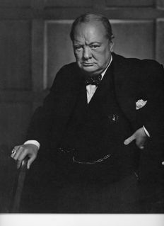 Yousuf Karsh (1908-2002) - Winston Churchill, 1941