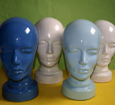 Scheurich Germany - 4 Ceramic heads