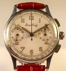 Breitling Steel- Chronograph-1940/50s-Men's