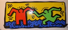 The Estate of Keith Haring - coat rack