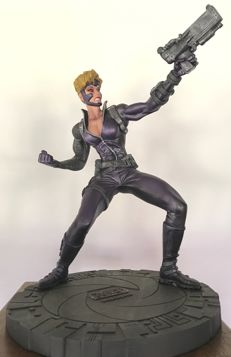 Playmates Toys - Large Cyber Force Limited Edition Statue - 1828/3500 - (1995)