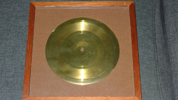 Unique  Nicolai Gedda Gold Record Award Disc Germany Guldskiva