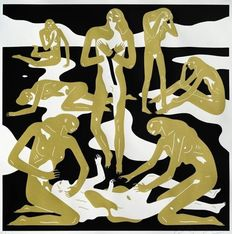Cleon Peterson - Virgins (Gold)