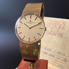 Vacheron Constantin — Genève 18kt yellow gold — Ref. 2018 — Men — 1970's