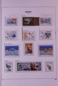 Europa STamps 1992/1995 - Complete collection in Davo Crystal preprint album