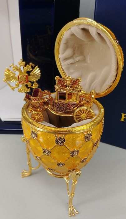 Authentic Fabergé Coronation Egg