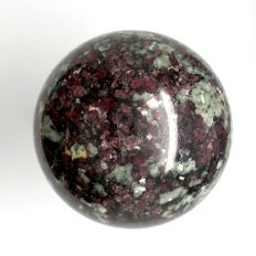 Fine and Rare Eudialyte sphere - 54 mm - 233.5 gm