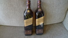 2 bottles - Johnnie Walker Gold Label The Centenary Blend 18 years old.