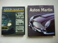 Lot with 2 books - A. Pritchard - Aston Martin , A Racing History , 2006 and R. Slegelmilch - Aston Martin , 2000