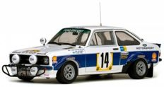 Sun Star - Scale 1/18 - Ford Escort RS1800 #14 - Safari Rally 1977 - Limited 998 pieces - Drivers: A.Vatanen / A.Aho