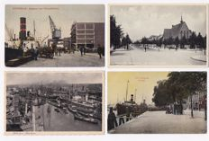 Rotterdam-165 x-Beautiful collection of lots of old postcards