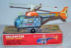 "KY, Japan - L. 40 cm - battery-operated ""Helicopter Highway Patrol"", 1960s/1970s"