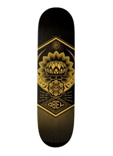 Shepard Fairey (OBEY) - Peace Lotus Skateboard Deck