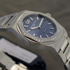 Girard-Perregaux - LAUREATO 1791 Lady with diamonds - 80189D11A431-11A - Women's - NEW - Date to be entered upon purchase