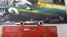 Lotus 49 sculpture - signed by Clive Chapman