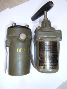 Ignition unit No 1 Blasting machine