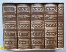 Denis Diderot & Jean le Rond d'Alembert - The Encyclopédie of Diderot and D'Alembert - 5 volumes - 1978