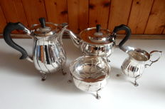 William Egan of Cork Solid Silver Coffee & Tea Service - Dublin - 1966