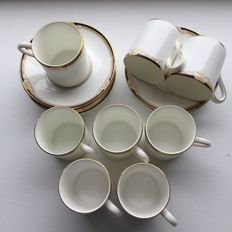 Wedgewood - Cavendish - set coffee cups and saucers (8)