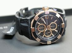 CONCORD C1 Chronograph Rose Gold - men's watch unworn