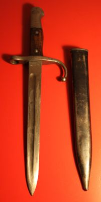 Turkish Mauser rifle Ottoman Bayonets Hooked quilion bayonet
