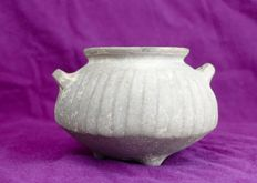 Yortan Pottery Jar --242 gm --  12cm x 8cm