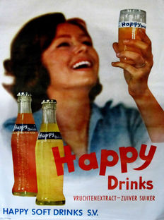 SOBI - Happy Drinks limonade - 1965