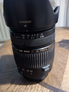 TAMRON for CANON 28 x 300 AF aspherical xr ld (if) 62mm filtermaat