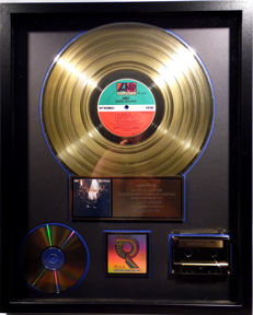 ABBA - Super Trouper - real US RIAA Gold Award goldene Schallplatte - original Sales Music Record Award ( Golden Record )