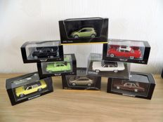 Neo Scale Models / Opel collections / Minichamps - Scale 1/43 - Lot with 8 models: 8 x Opel