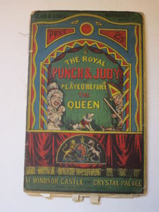 Dean & Son's moveable book of The Royal Punch & Judy as played before the Queen at Windsor Castle & the Crystal Palace - n.d. (1870)