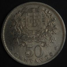 Portugal – 50 Centavos – 1930 – Portuguese Republic – Lisbon – Very Rare and Valuable and No Reserve Price – Between EF/XF and UNC - AG: 20.04